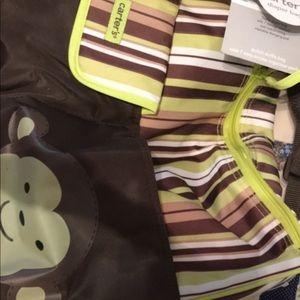 Carter's baby diaper bag